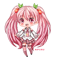 Cherry Miku by aipuru