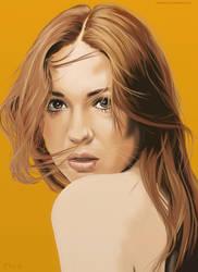 Karen Gillian Portrait by garrypfc