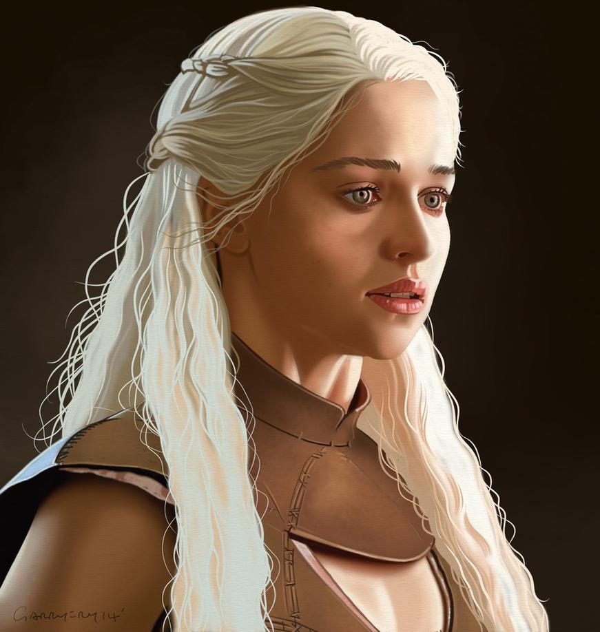 Daenerys Targaryen. by garrypfc