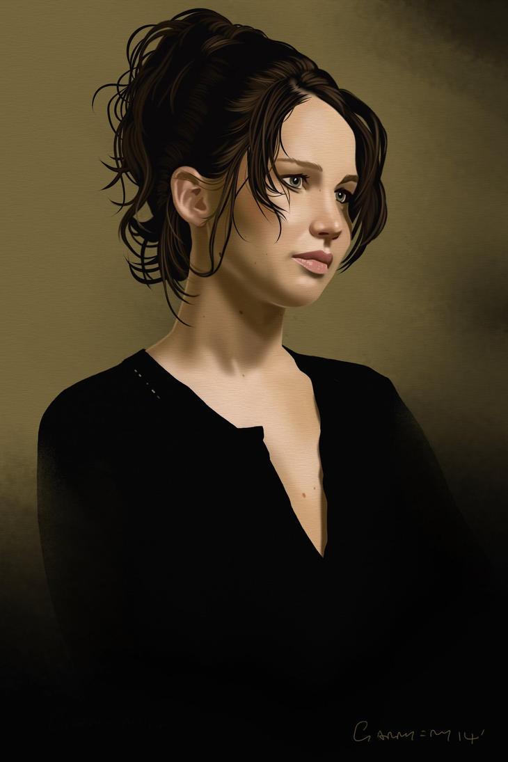 Jennifer Lawrence ...Final version. by garrypfc