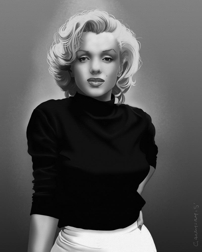 Marilyn Monroe by garrypfc