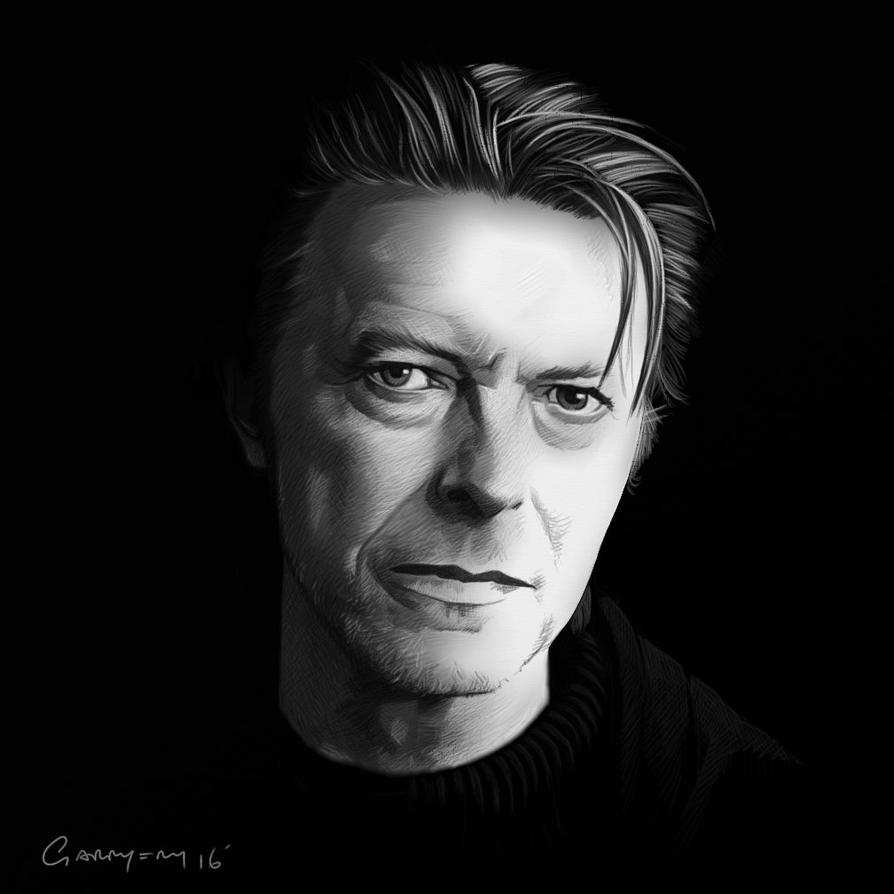 Bowie by garrypfc