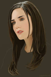 Jennifer Connelly by garrypfc