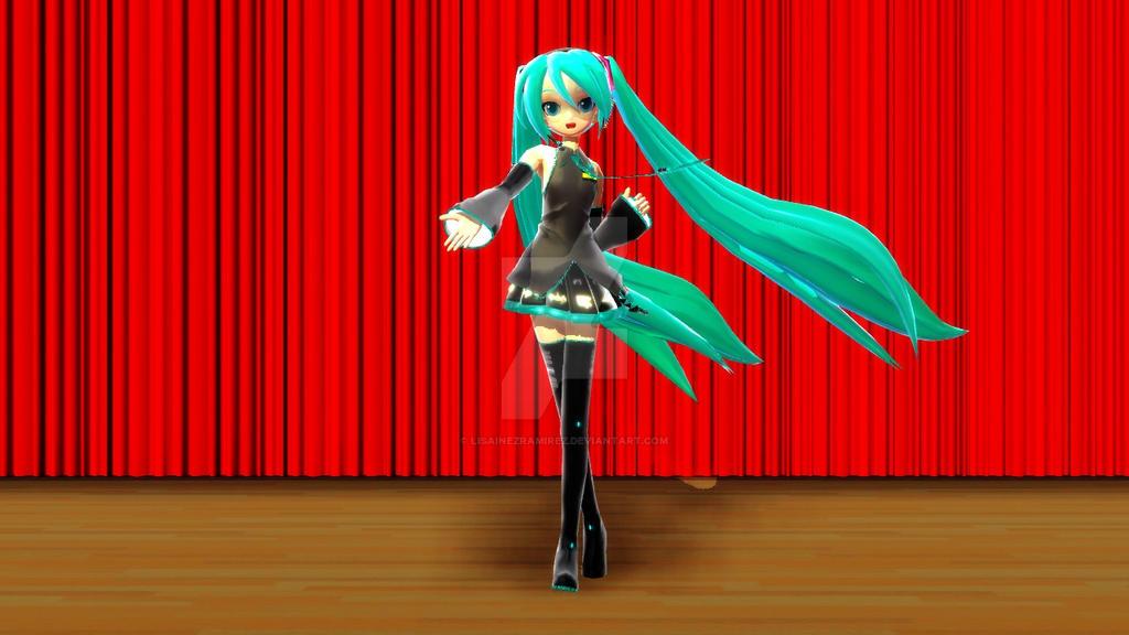 (MMD) Odd Story: Hatsune Miku (Vocaloid) by LisaInezRamirez