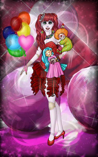 Circus Baby in Wonderland by LisaInezRamirez