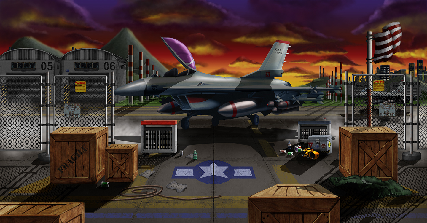Guile Stage Sunset 1440 By Mithius On Deviantart