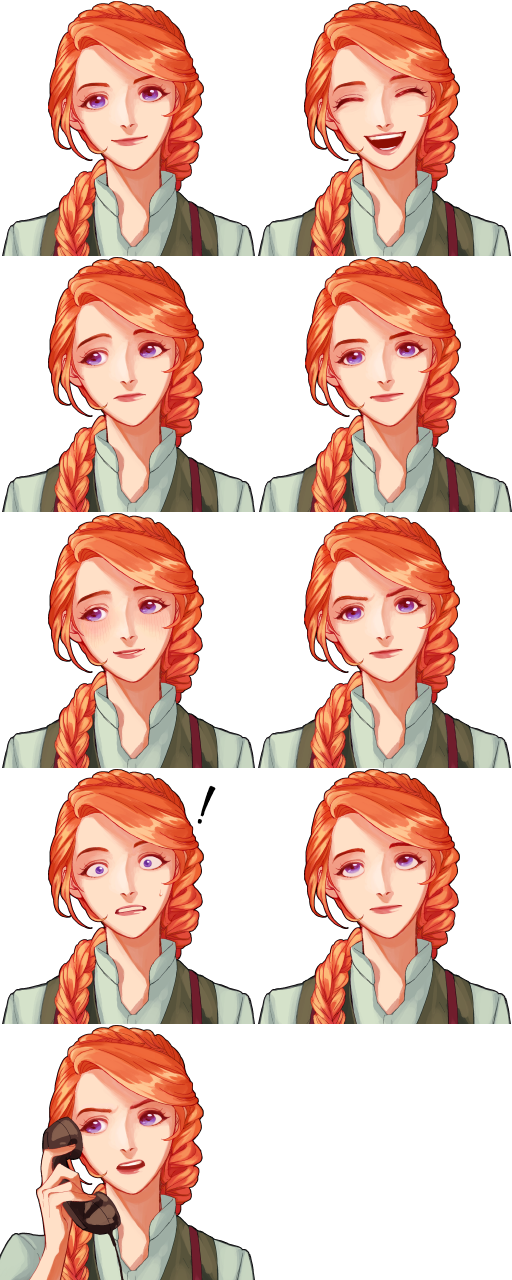 Leah Portrait Mod (HighRes) by Yuis-Drawing on DeviantArt