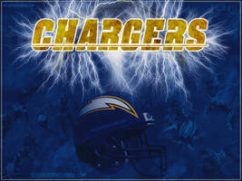 San Diego Chargers Wallpaper by sicksidedesignz
