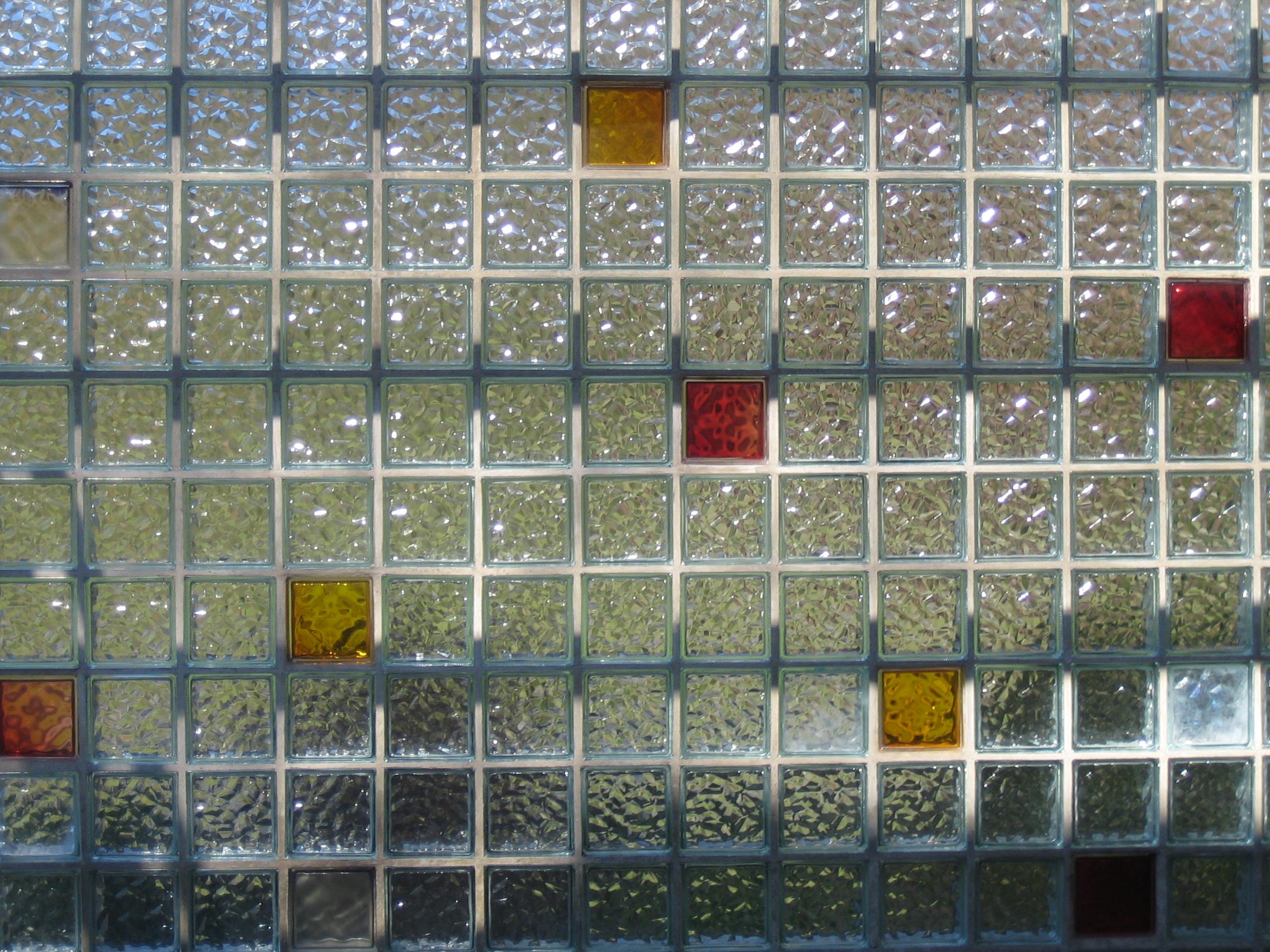 Glass bricks No.1 by redrockstock