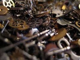 Gears cogs clockwork No.2 by redrockstock