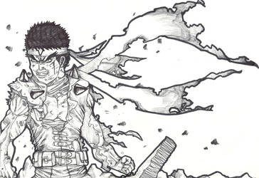 battle damage jin saotome by theredmonster419