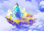 Floating island by Konata-C