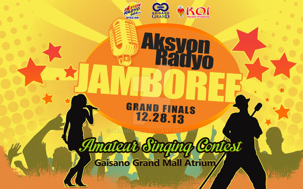 Aksyon Radyo Jamboree Grand Finals By Aemerald24 On Deviantart