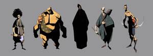 samurai concepts 2 by EduardVisan