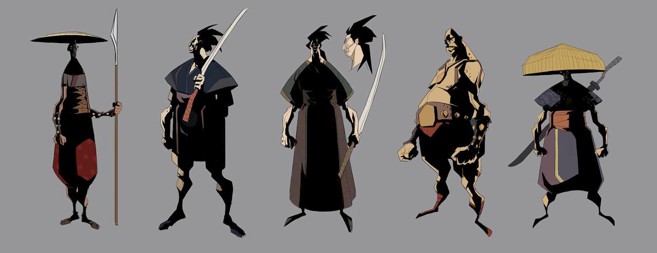 Future Samurai Concept samurai concepts 3 by