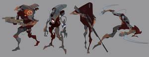robots characters by EduardVisan