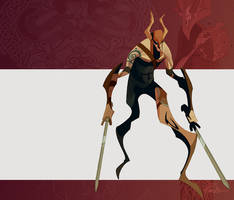 viking swordmaster by EduardVisan