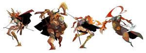 Warriors by EduardVisan