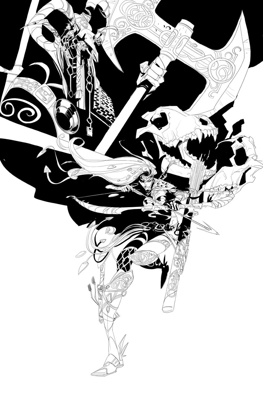 Archer by EduardVisan