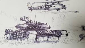 Russian Invasion sketch