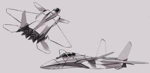 FFR-31 Sylphid  design sketch