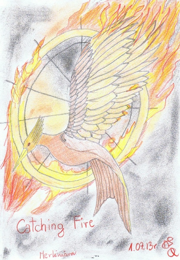 catching fire logo by merliniara on deviantart
