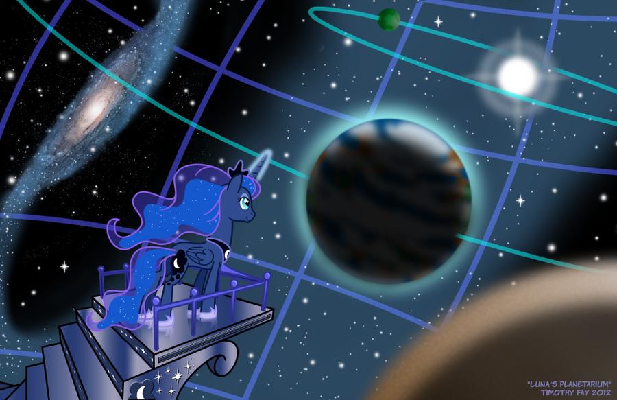 Luna's Planetarium by Tim-Kangaroo