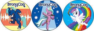 BronyCon 2014 Sidewalk Stickers