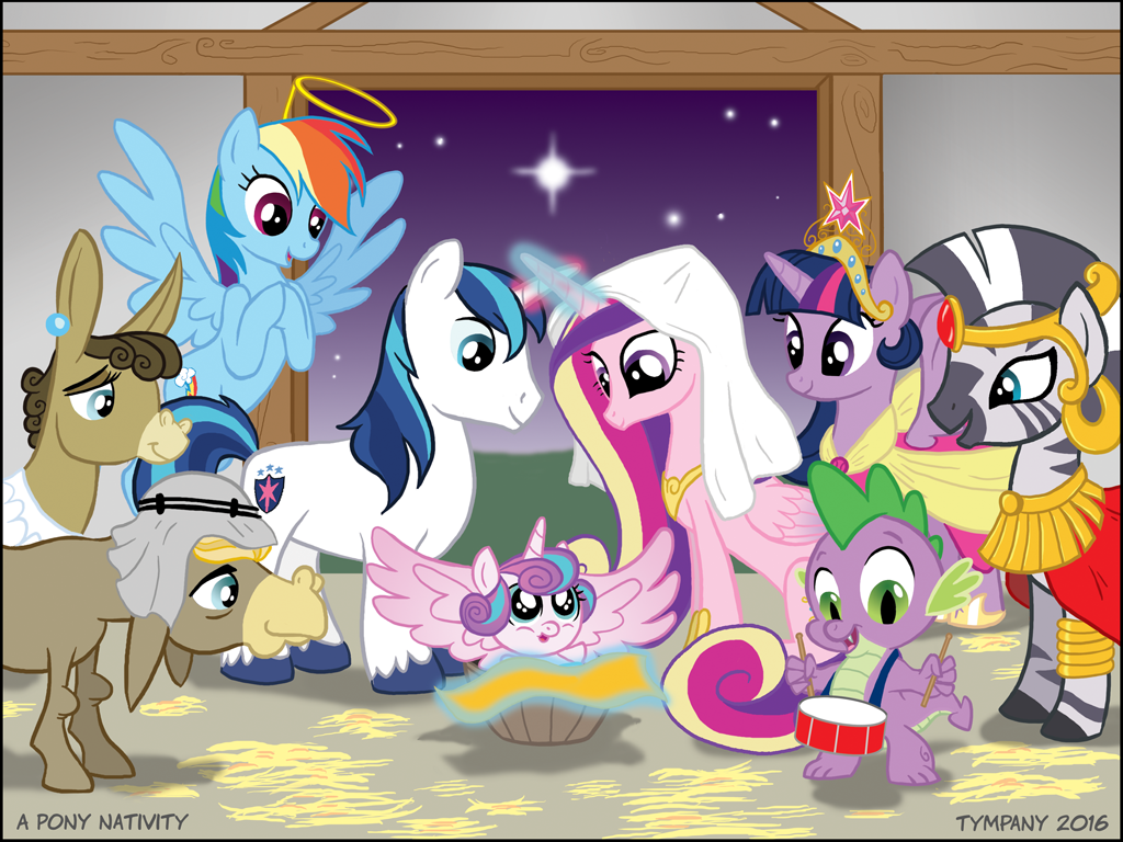 A Pony Nativity by Tim-Kangaroo