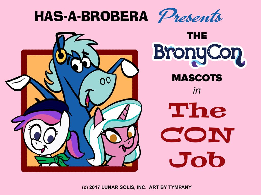 BronyCon Mascots: H-B Style by Tim-Kangaroo