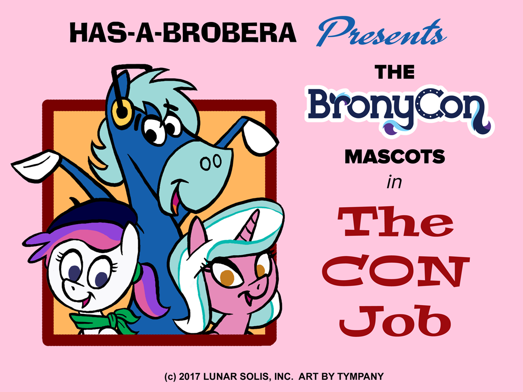 BronyCon Mascots: H-B Style