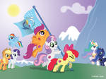 Raising the Flag of Equestria