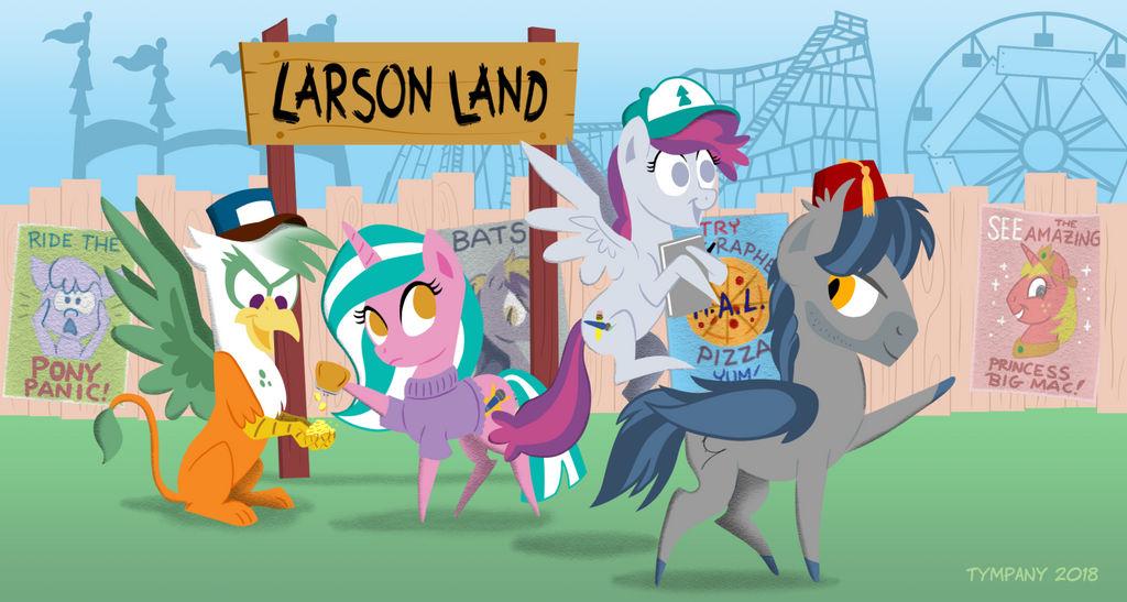 BronyCon 2018: M.A. Larson by Tim-Kangaroo