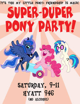Pony Party at MFF 2019