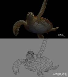 Sea Turtle Shot F_Breakdown by ltken84