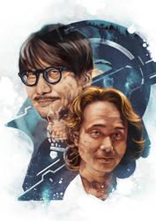 Hideo Kojima and Yoji Shinkawa