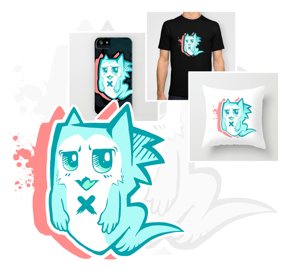 Society6 Print Shop Promotion by Yoruko