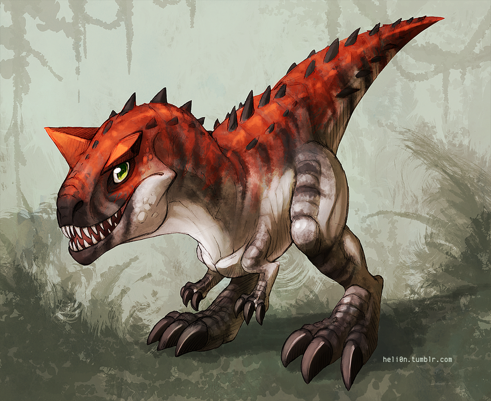 Carnotaurus By Yoruko On Deviantart