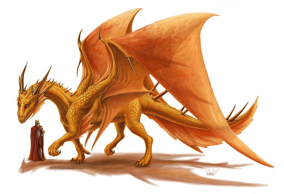 Topaz Dragon by PutridusCor on DeviantArt