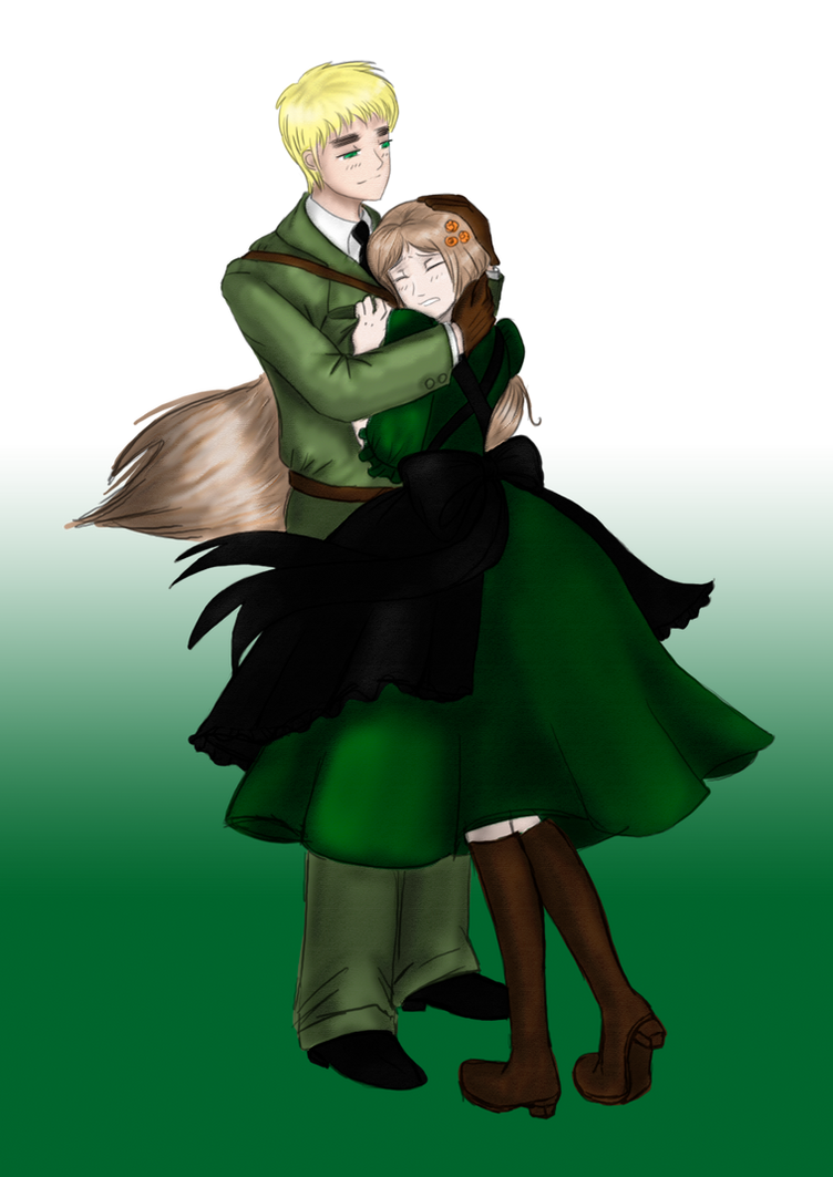 APH: Hungary and England by Yanagirl