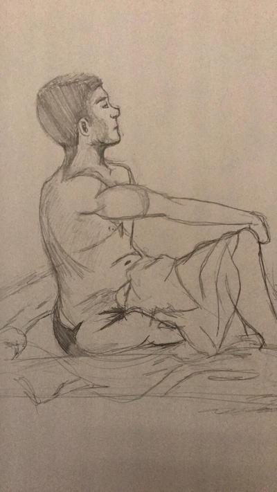 Figure Study by KeySketch