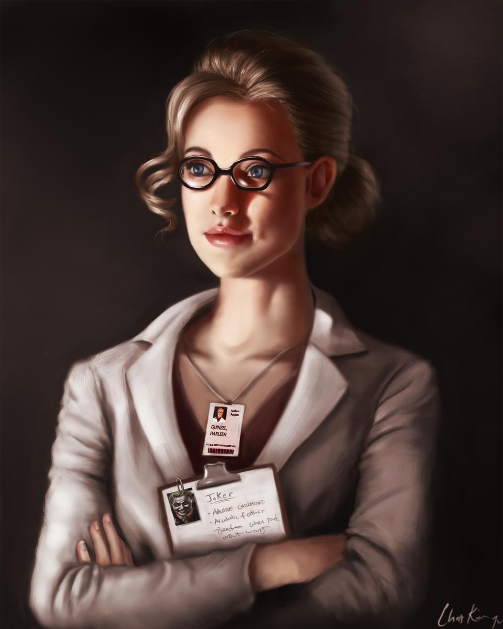 Dr. Harleen Quinzel, Harley Quinn by ChrisKimArt
