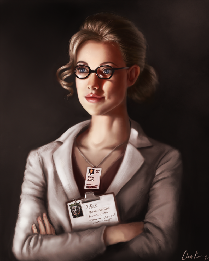 Dr. Harleen Quinzel, Harley Quinn by buralbrah