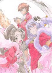 Keima, Elsie and Haqua. by AMFS