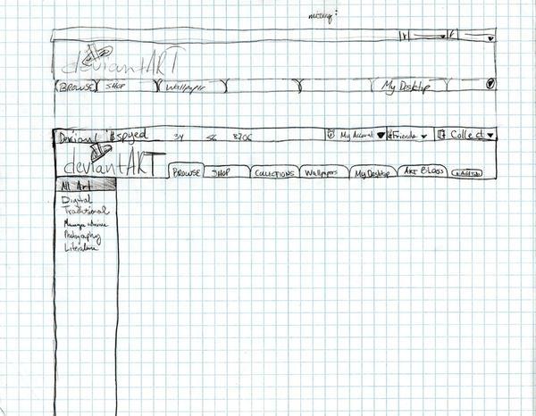 Concept: deviantART v6 SLK 4 by spyed