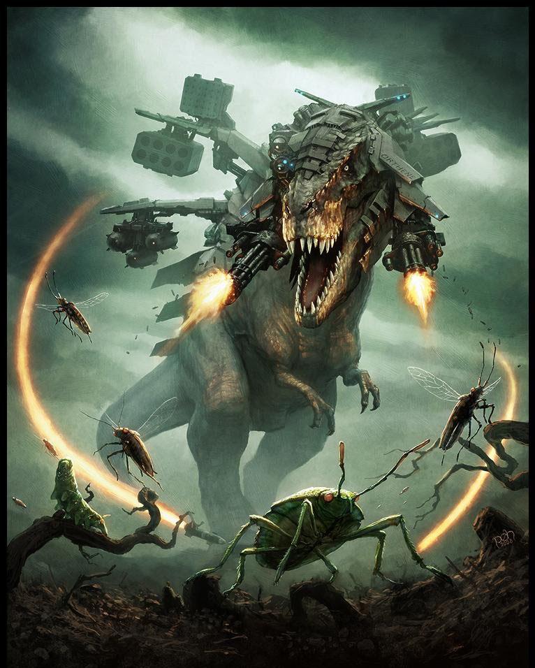 Mecha-Tyrannosaurus rex by prehistoricjack