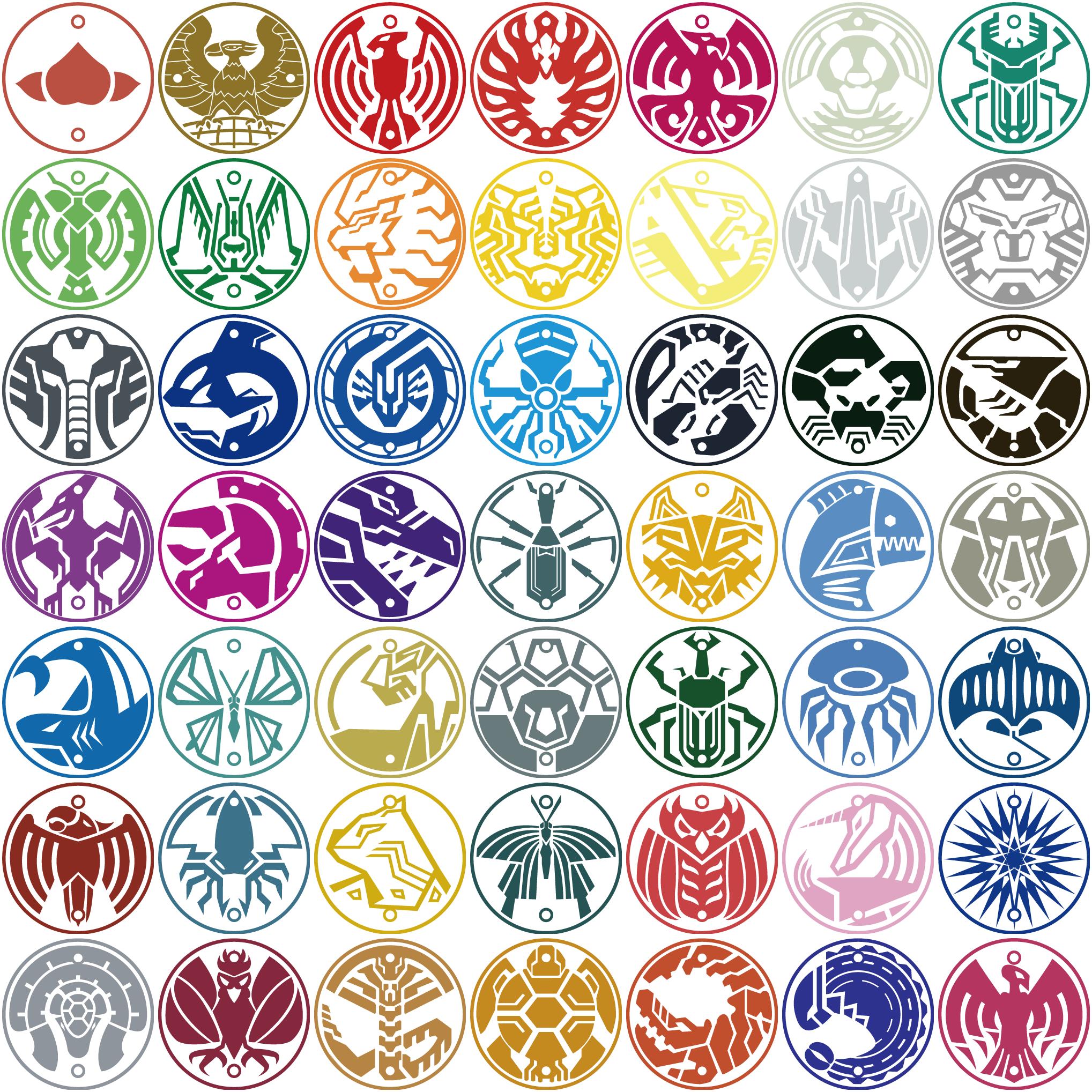 Symbols of the WILD! by prehistoricjack on DeviantArt