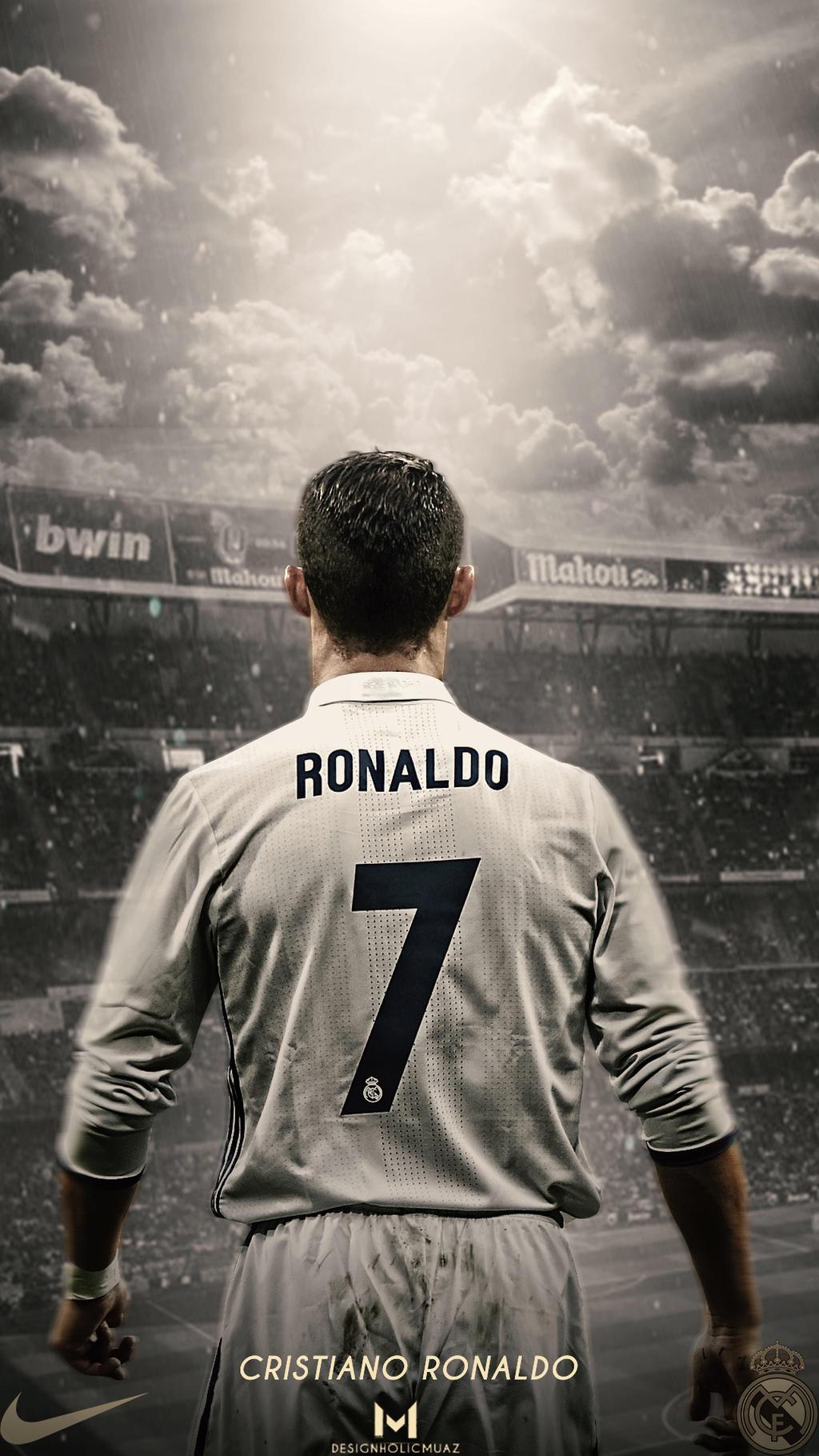 Cristiano Ronaldoreal Madrid Wallpaper By Muajbinanwar On Deviantart