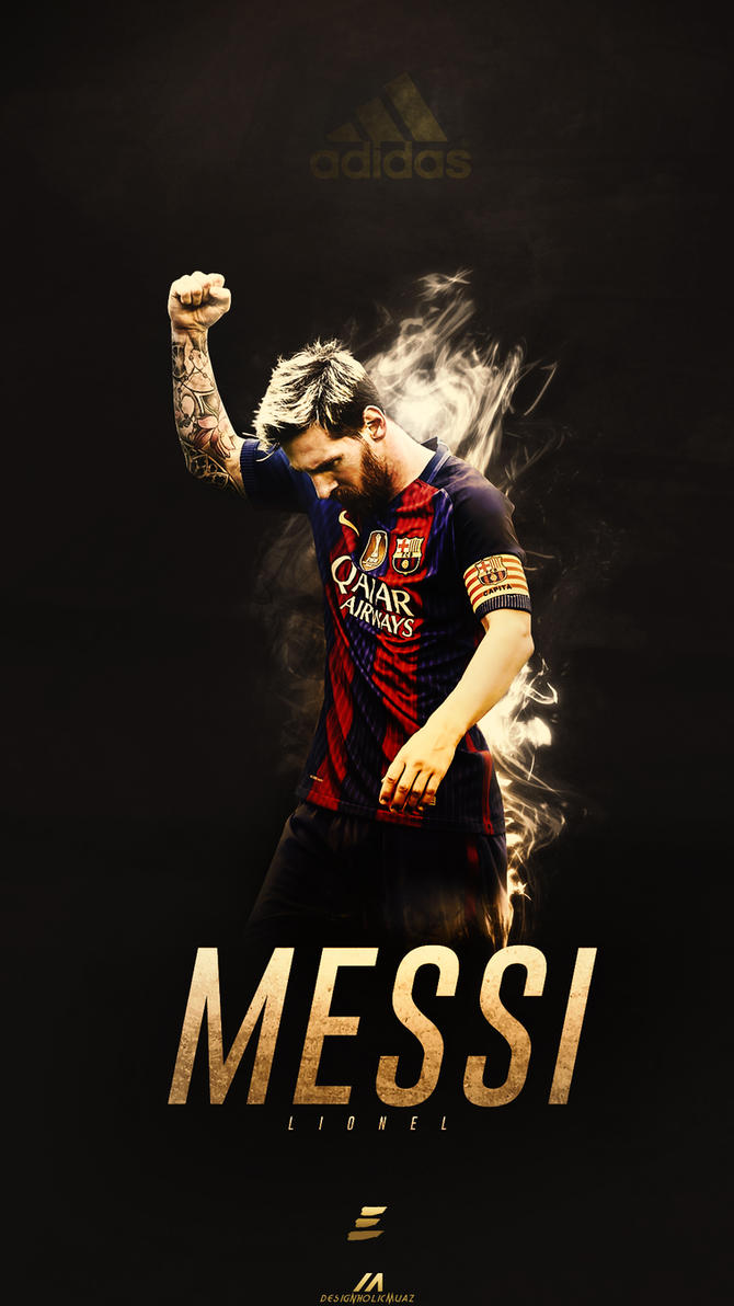 Lionel Messi lockscreen wallpaper by muajbinanwar on