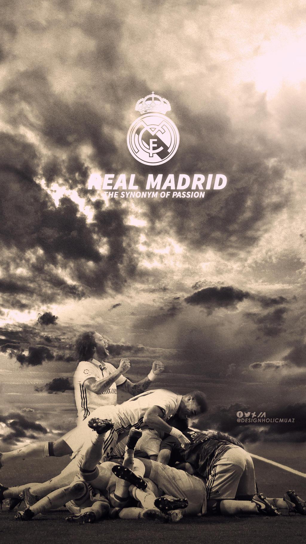 Real Madrid Lockscreen Wallpaper By Muajbinanwar